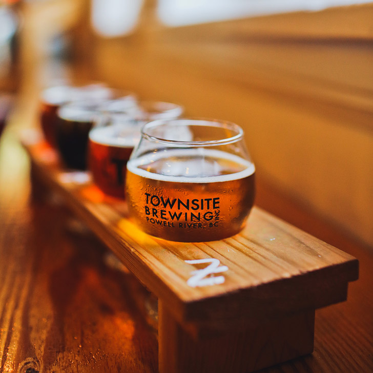 Townsite Brewing, Powell River BC + The Best Things to Do on the Sunshine Coast BC // localadventurer.com