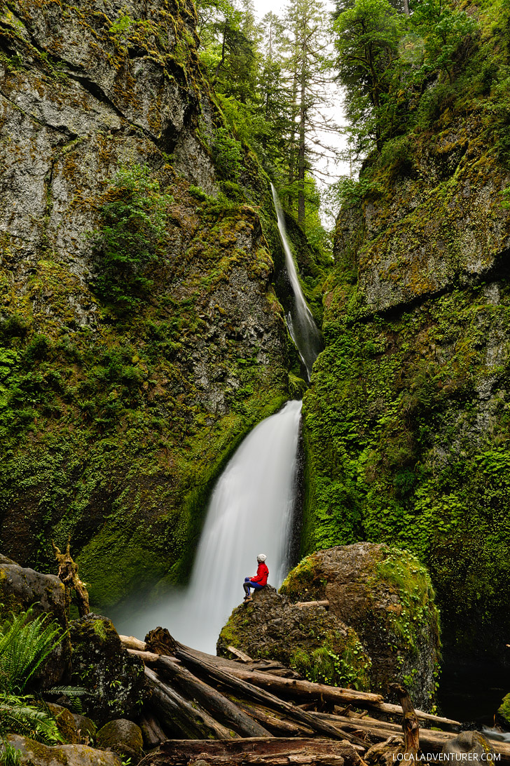 Visual Guide to the Wahclella Falls Hike, Columbia River Gorge Waterfalls // localadventurer.com