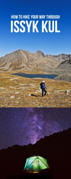 Kyrgyzstan Hiking - How to Hike to Boz Uchuk Lakes // localadventurer.com