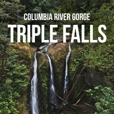 Your Guide to the Triple Falls Hike in the Columbia River Gorge, Oregon // localadventurer.com