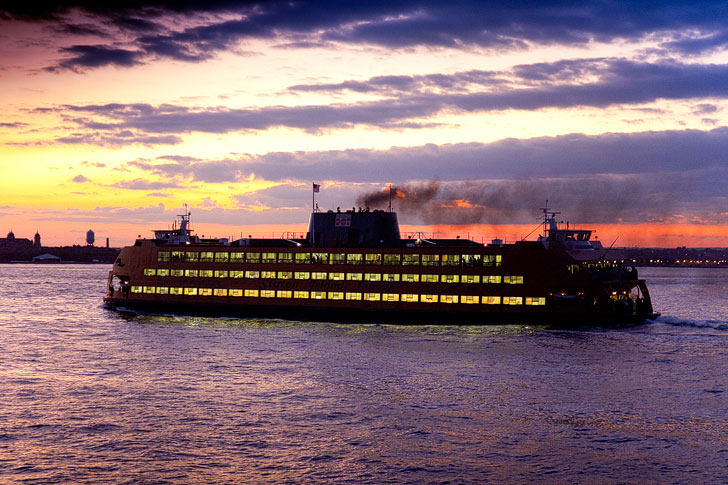 Staten Island Ferry - The Best Free Places to Go in NYC - NYC on a Budget - Free NYC Attractions (pc: Malcolm Brown) // localadventurer.com