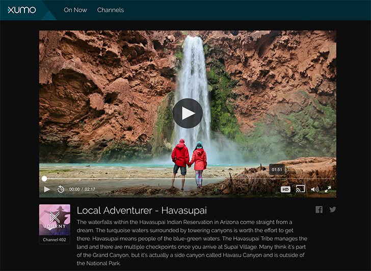 Local Adventurer is a Roku Free Channel about Travel // localadventurer.com