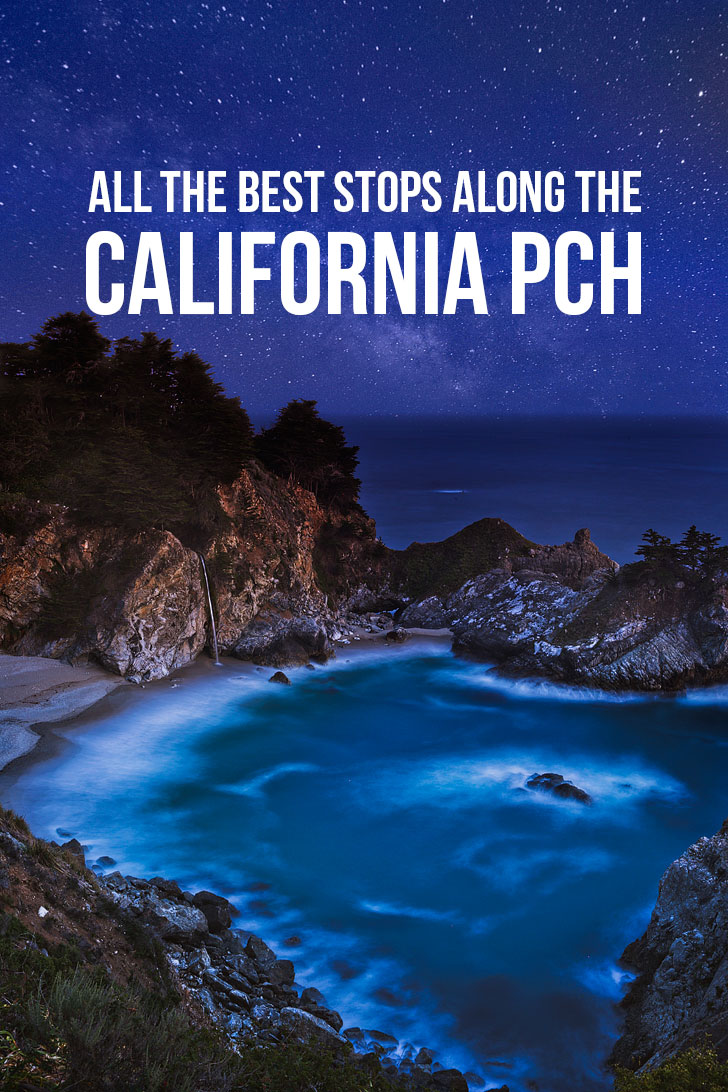 California Coastal Highway Road Trip - All the Best Places to Stops on the Pacific Coast Highway - from San Diego to Crescent City including stops in Los Angeles, San Luis Obispo, Big Sur, Monterey, San Francisco, Mendocino and more // localadventurer.com