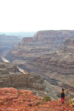 Grand Canyon West + 15 Incredible Road Trips from Las Vegas // localadventurer.com