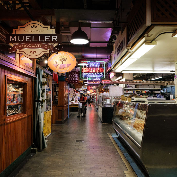 Reading Terminal Market - It's one of the largest and oldest public markets in the US and has been around since 1893 + Best Free Attractions in Philadelphia // Local Adventurer
