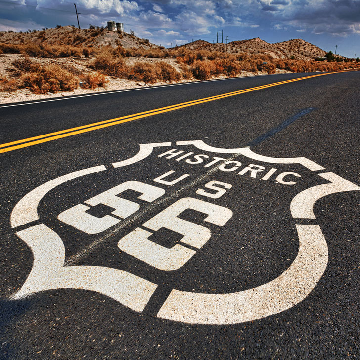 Route 66 to Seligman Arizona + 15 Best Driving Trips from Las Vegas (photo: Randy Heinitz) // localadventurer.com