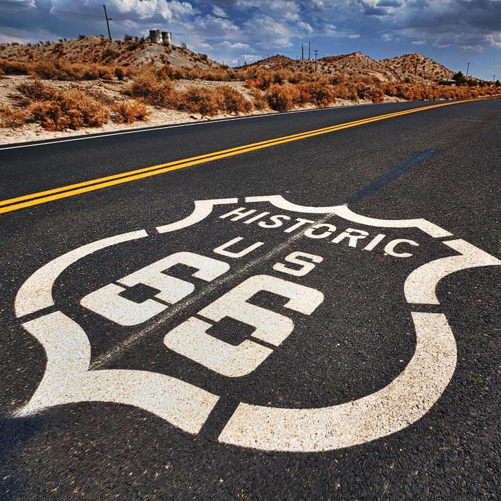 Route 66 to Seligman Arizona + 15 Best Driving Trips from Las Vegas (photo: Randy Heinitz) // localadventurer.com