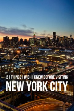 21 Essential Tips for Visiting New York // localadventurer.com