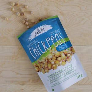 Roasted Chickpeas - Sea Salt and Lime - 120g