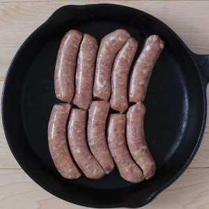 Chicken Breakfast Sausage (frozen) - Pine View Farms
