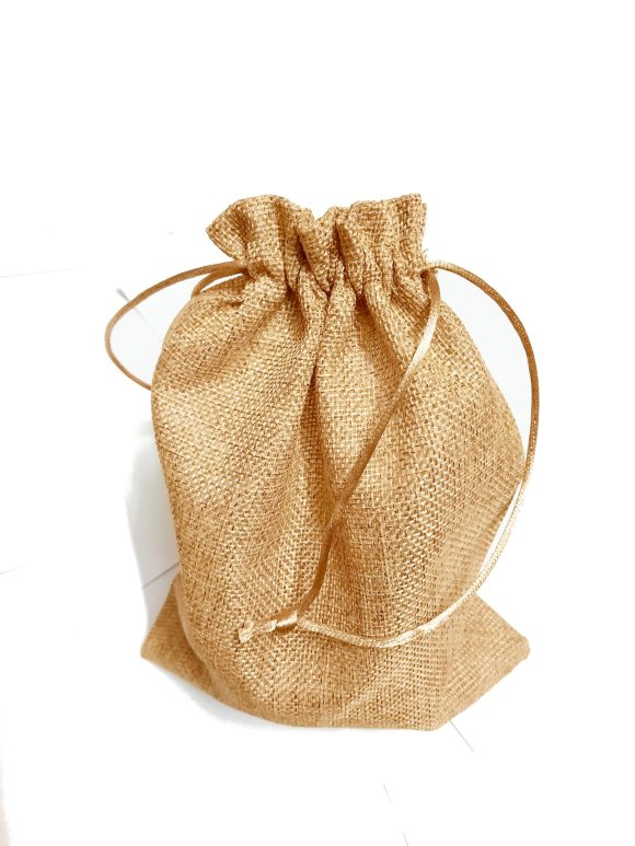 Golden Brown Jute Bags