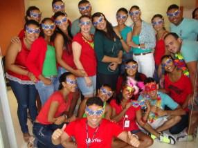 Equipe filial Salvador II (gerente: Paulo César)