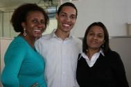 Flavia, Wanderson e Solange (coordenadores)