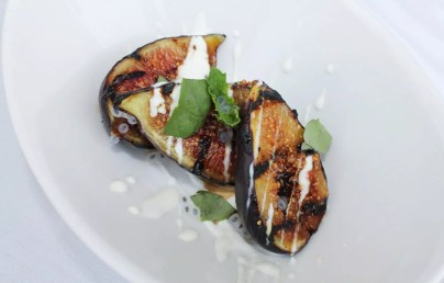 Grilled Figs Close Up