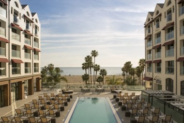Photo Provided By: Loews Santa Monica Beach Hotel
