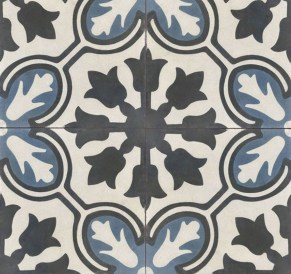 Cement Tile Shop in Avallon Navy The Finishing Touch Floors, Inc. $8.65 per Piece www.ftfloorsinc.com
