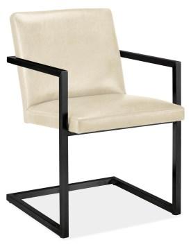 Lira Chair in Leather Room & Board SOCO $699 www.roomandboard.com