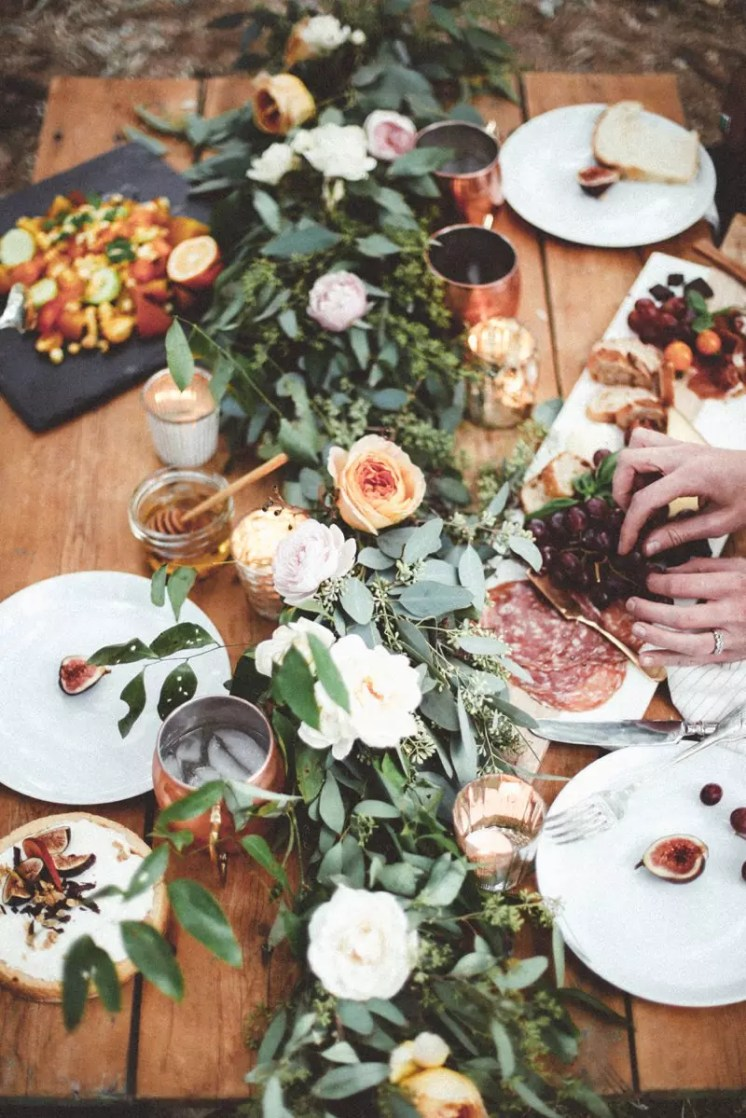 Charcuterie at Table