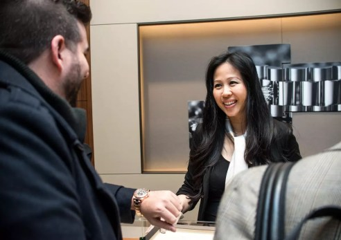 Christina Wong of Rolex Boutique