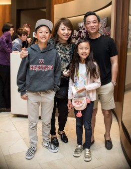 Deric Lam and family