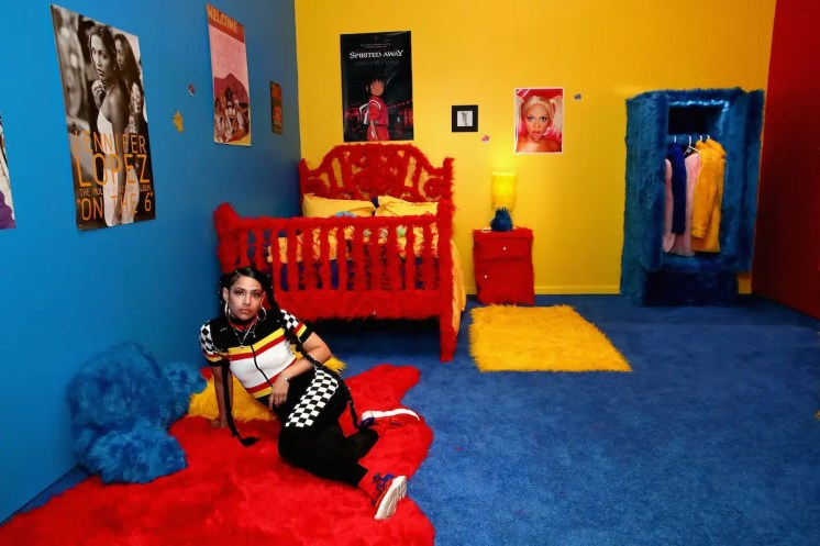 BROOKLYN, NY - SEPTEMBER 05: Artist Uzumaki Cepeda attends Refinery29 29Rooms New York 2018: Expand Your Reality Opening - Press Preview on September 5, 2018 in Brooklyn, New York. (Photo by Astrid Stawiarz/Getty Images for Refinery29)