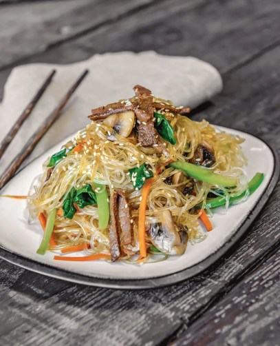 Chef Jet Tila - Korean Chap Chae