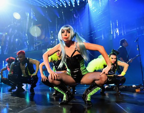 LAS VEGAS, NV - DECEMBER 28: (EXCLUSIVE COVERAGE) Lady Gaga performs during her 'ENIGMA' residency at Park Theater at Park MGM on December 28, 2018 in Las Vegas, Nevada. (Photo by Kevin Mazur/Getty Images for Park MGM Las Vegas)