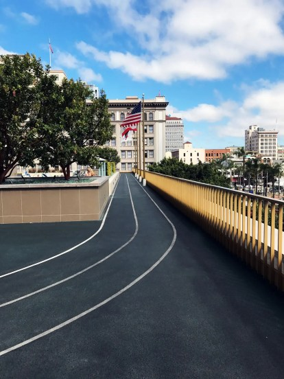 AquaVie Rooftop Running Track
