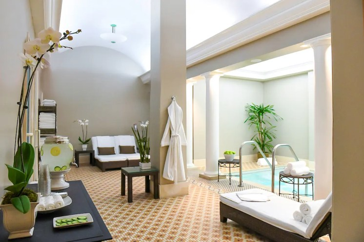 Aviara Spa Whirlpool Area