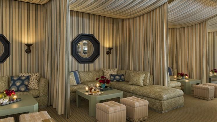 The Cabanas at hotel Casa Del Mar, Santa Monica, CA.