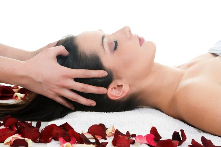 CloudMover stock photo head massage