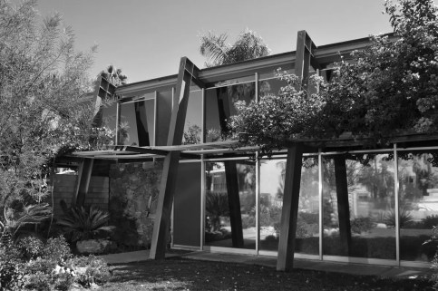 Hugh Kaptur, Impala Lodge (now Triangle Inn), Palm Springs,1957-58. Photo by Dan Chavkin.