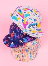 Julie Pinzur Mokuyobi_5 panel hats