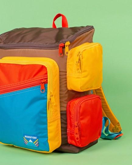 Julie Pinzur Mokuyobi_Brown Bear Treveler Mega Backpack