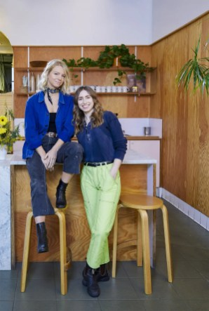 Caitlin Sullivan & Kacie Carter, owners of Honey Hi