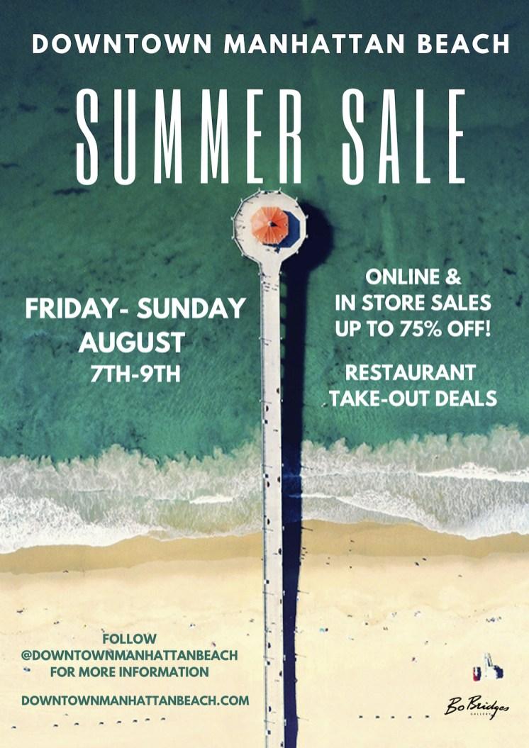 Sidewalk Sale Manhattan Beach