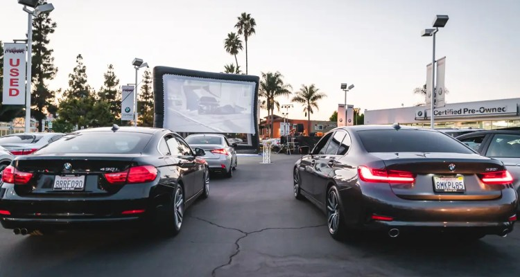 Find Yourself In Photos From Our Family Movie Night Drive In At Mckenna Bmw In Norwalk Locale Magazine