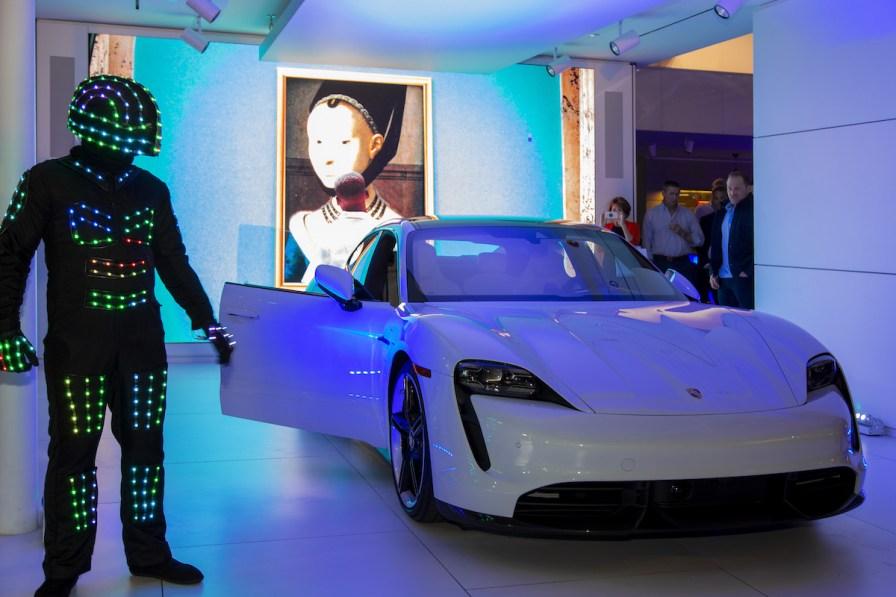 Courtesy of indiGO Auto Group_PorscheTaycan Launch