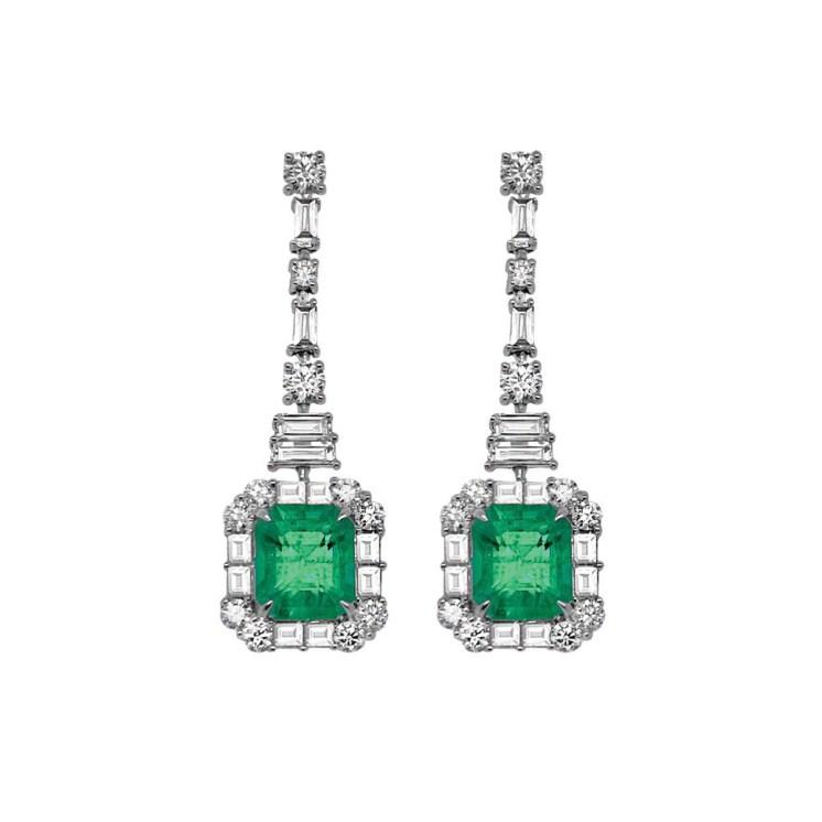 Hyde Park_Emerald Earrings
