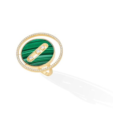 Leeds & Son_Messika Paris - Bague Lucky Move GM Malachite 11274