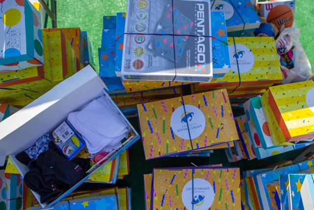 Birthday Box Underprivileged Children