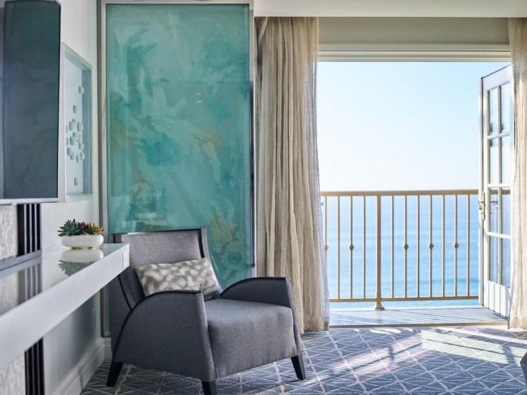 RITZ CARLTON LAGUNA NIGUEL_Ocean View Guestroom_Credit Mark Read Photography