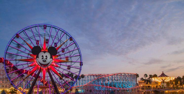 The wonderful worlds of Pixar come to life at Pixar Pier in Disney California Adventure Park. The reimagined land features the thrilling Incredicoaster, imaginative neighborhoods, Pixar-inspired food, the Lamplight Lounge, plus exciting entertainment and more. Disney California Adventure is located in Anaheim, Calif. (Joshua Sudock/Disneyland Resort)