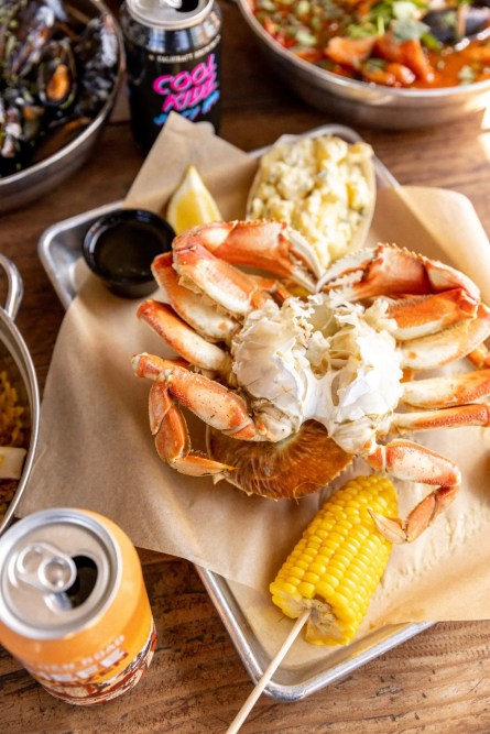 The Albright_Fresh Crab from their Saltwater Tanks-min