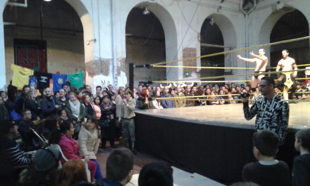 Wrestling en Tabacalera