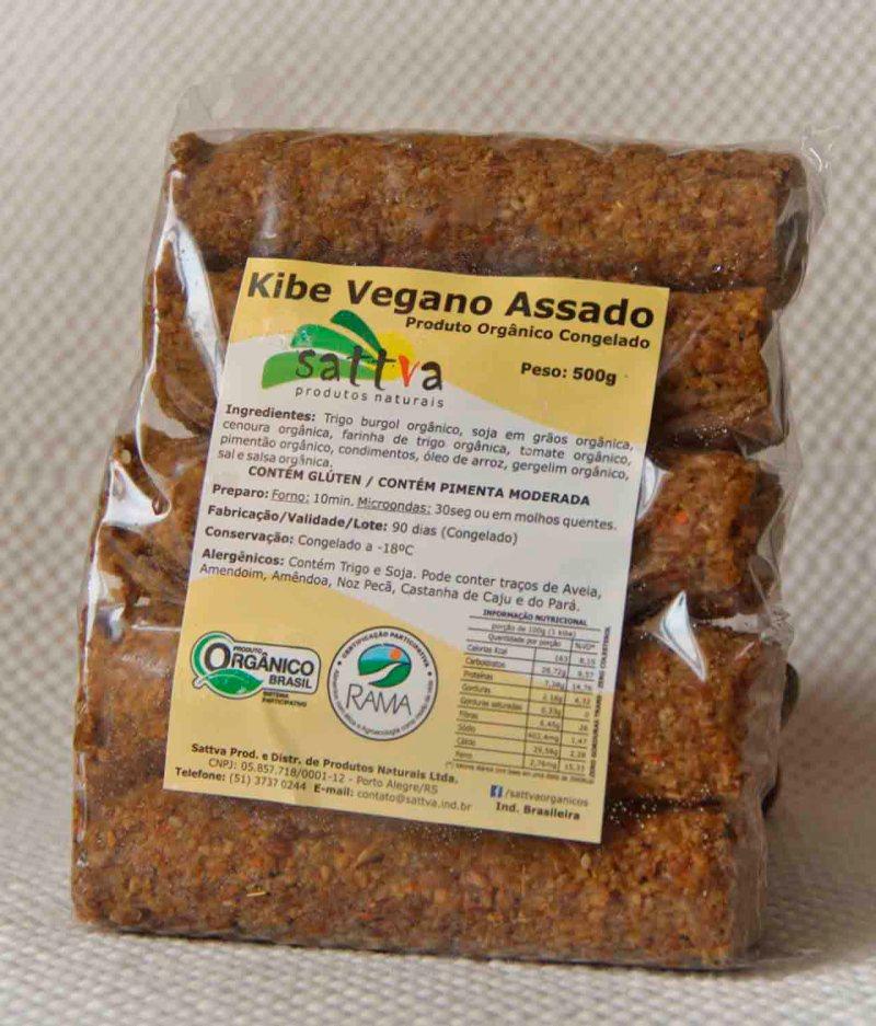 Kibe Vegano Assado Orgânico