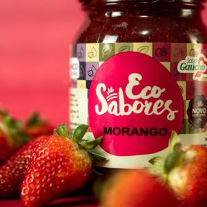 geleia de morango organica