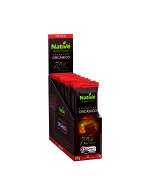 Chocolate 75% Cacau Orgânico