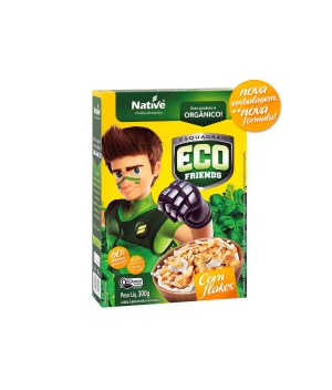Cereal Eco Friends Corn Flakes Orgânico