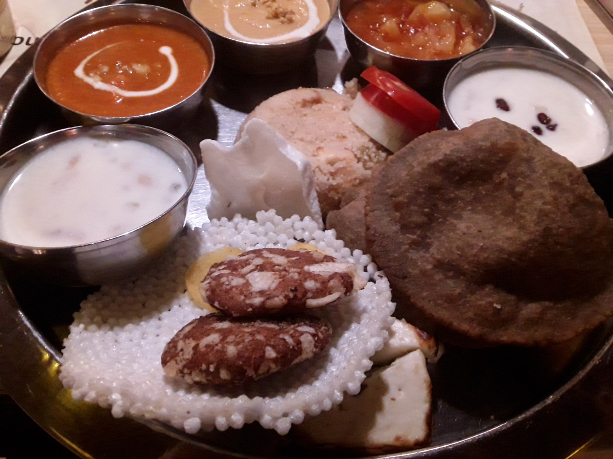 Navratri Special Meal at Pind Balluchi